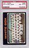 1971 Topps White Sox Team #289 PSA 8
