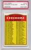 1972 Topps 2nd Series Checklist 132-263 - #103 PSA 8