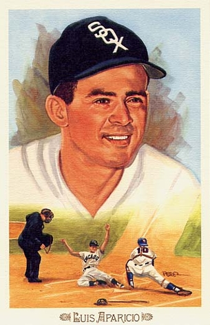 Luis Aparicio Perez-Steele Celebration Postcard #2