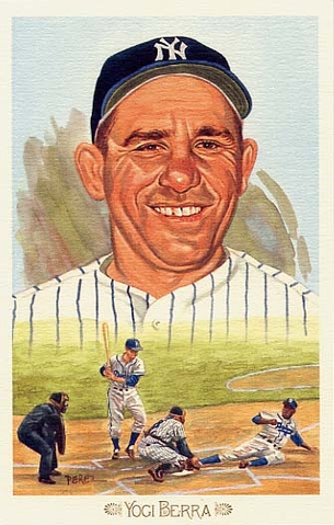 Yogi Berra Perez-Steele Celebration Postcard #6
