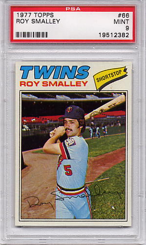 1977 Topps Roy Smalley #66 PSA 9