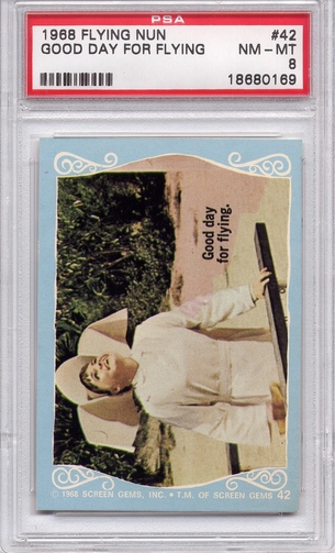 1968 Flying Nun - Good Day For Flying #42 PSA 8