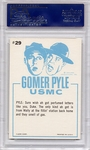 1965 Gomer Pyle - Here, Just Take A Whiff #29 PSA 9