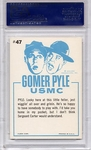 1965 Gomer Pyle - Snakes Are Just Like People #47 PSA 9