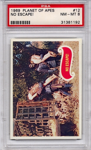 1969 Planet Of The Apes - No Escape! #12 PSA 8