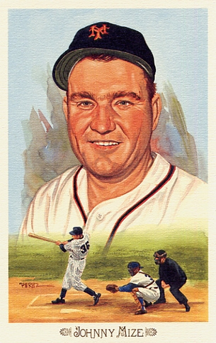 Johnny Mize Perez-Steele Celebration Postcard #32