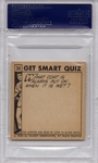1966 Get Smart - Everyone Up On Her Toes #34 PSA 8