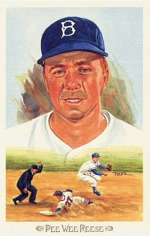 Pee Wee Reese Perez-Steele Celebration Postcard #34