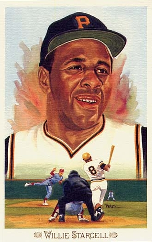 Willie Stargell Perez-Steele Celebration Postcard #40