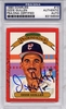 Ozzie Guillen PSA/DNA Certified Authentic Autograph - 1990 Donruss Diamond Kings