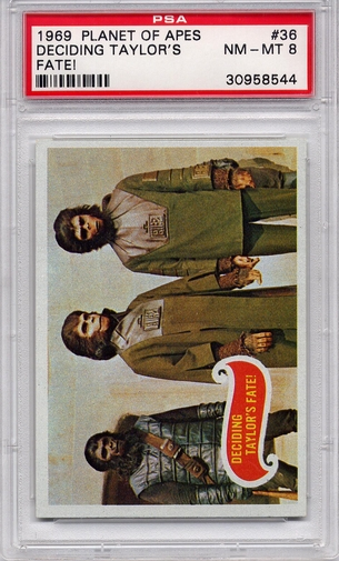 1969 Planet Of The Apes - Deciding Taylor's Fate! #36 PSA 8
