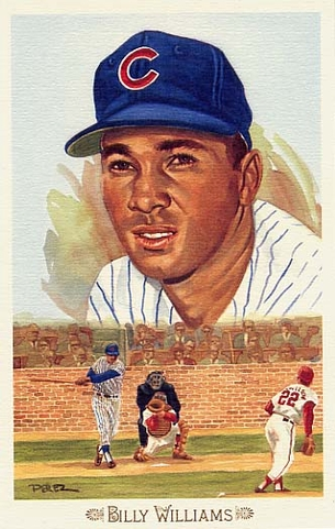 Billy Williams Perez-Steele Celebration Postcard #42
