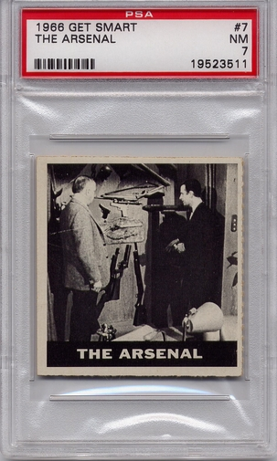 1966 Get Smart - The Arsenal #7 PSA 7
