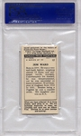 1938 F.C. Cartledge - Boxing - Jem Ward #12 PSA 8