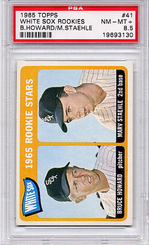 1965 Topps White Sox Rookies #41 PSA 8.5
