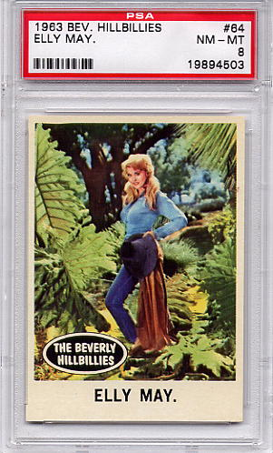 1963 Beverly Hillbillies - Elly May #64 PSA 8
