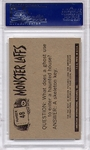 1966 Monster Laffs - Where's My Tom Tom #48 PSA 8