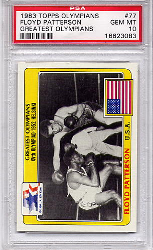 1983 Topps Olympians Floyd Patterson #77 PSA 10