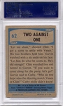 1956 Elvis Presley - Two Against One #62 PSA 7
