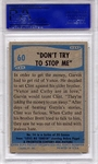 1956 Elvis Presley - Don't Try To Stop Me #60 PSA 7