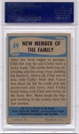 1956 Elvis Presley - New Member Of The Family #49 PSA 7