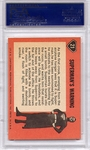 1966 Superman - Superman's Warning #21 PSA 8