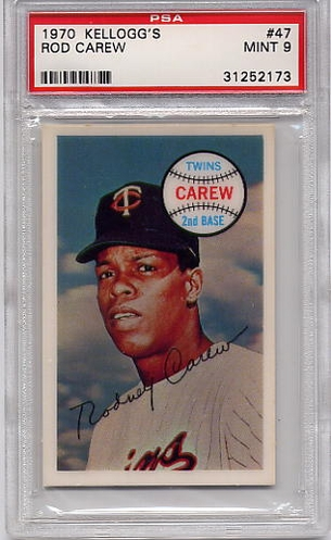 1970 Kellogg's Rod Carew #47 PSA 9