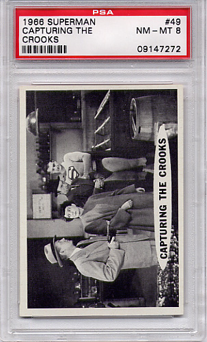 1966 Superman - Capturing The Crooks #49 PSA 8