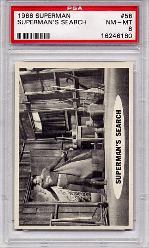 1966 Superman - Superman's Search #56 PSA 8