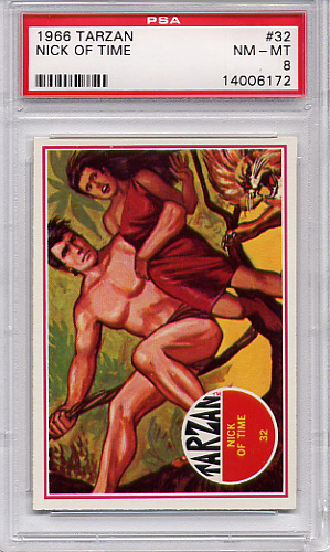 1966 Tarzan - Nick Of Time #32 PSA 8
