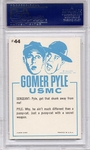 1965 Gomer Pyle - It Ain't The Smell So Much #44 PSA 9