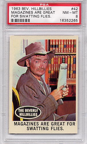 1963 Beverly Hillbillies - Magazines Are Great #42 PSA 8