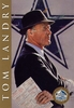 Tom Landry Hall of Fame Signature Series Card