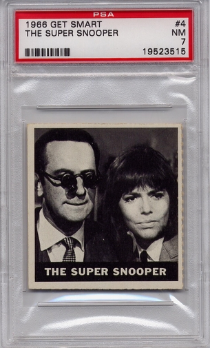 1966 Get Smart - The Super Snooper #4 PSA 7
