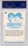 1965 Gomer Pyle - Hey There, Li'l Ol' King Snake #46 PSA 9