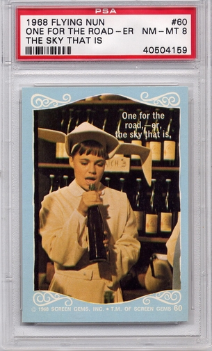 1968 Flying Nun - One For The Road - Er, The Sky That Is #60 PSA 8