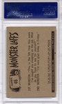 1966 Monster Laffs - Mother Please, I'd Rather... #46 PSA 8