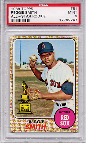 1968 Topps Reggie Smith #61 PSA 9
