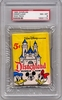 1965 Disney Puzzleback Wax Pack PSA 8