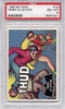 1966 Batman (black bat) Robin In Action #18 PSA 8