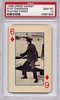 1966 Green Hornet Playing Cards - 6 Of Diamonds PSA 10