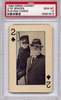 1966 Green Hornet Playing Cards - 2 Of Spades PSA 10