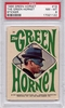 1966 Green Hornet Sticker - The Green Hornet #19 PSA 8