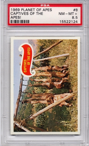 1969 Planet Of The Apes - Captives Of The Apes! #8 PSA 8.5