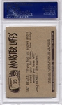 1966 Monster Laffs - Sh! Someone's At The Door #39 PSA 8
