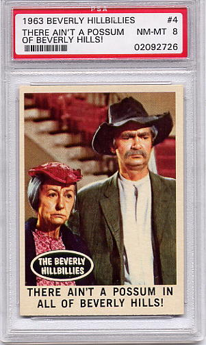 1963 Beverly Hillbillies - There Ain't A Possum #4 PSA 8