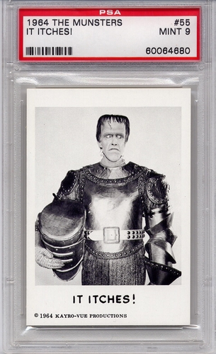 1964 The Munsters - It Itches! #55 PSA 9