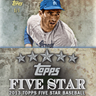 2013 TOPPS FIVE STAR BASEBALL HOBBY 3CT CASE
