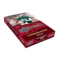 2012 UPPER DECK FOOTBALL HOBBY BOX (NO REDEMPTIONS IN PRODUCT )