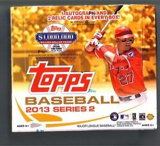 2013 TOPPS SERIES 2 JUMBO BASEBALL HOBBY BOX